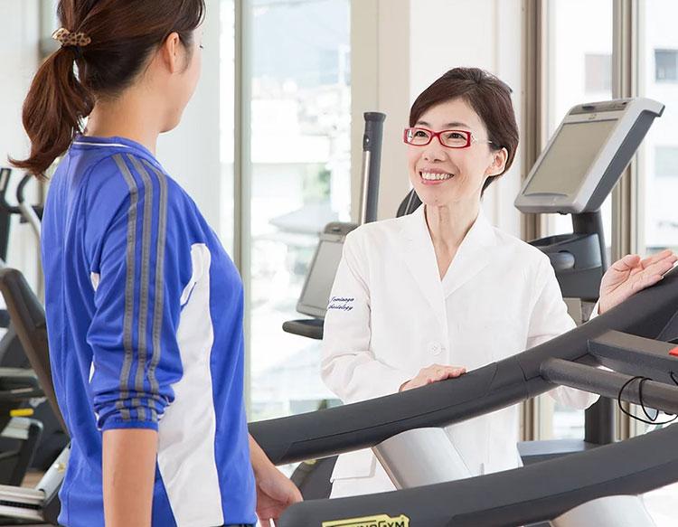 専門スタッフがあなたに最適なトレーニングメニューを組みます